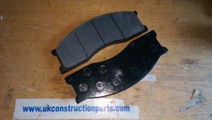 UKF1108 Volvo brake pad set